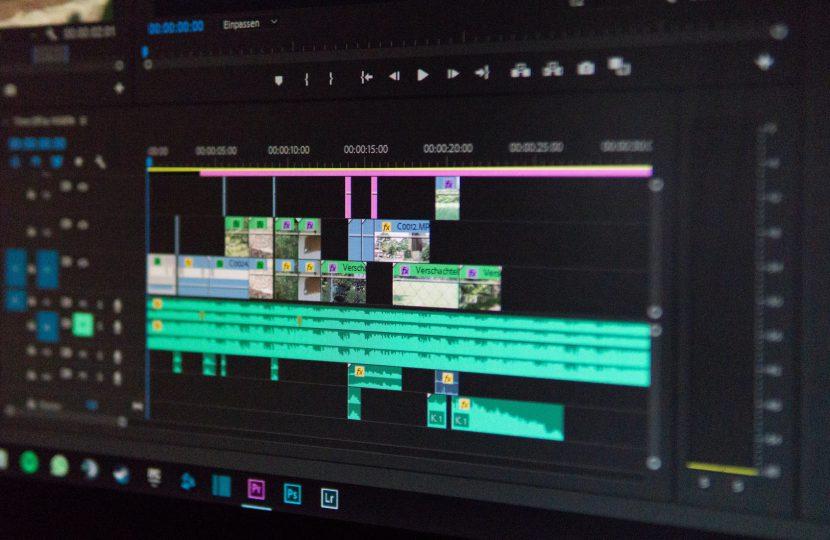Screenshot of Photoshop Premier