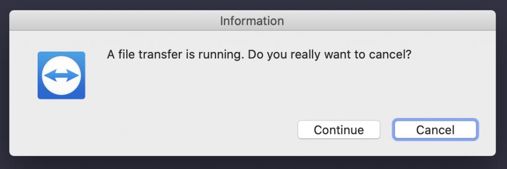 TeamViewer Alert
